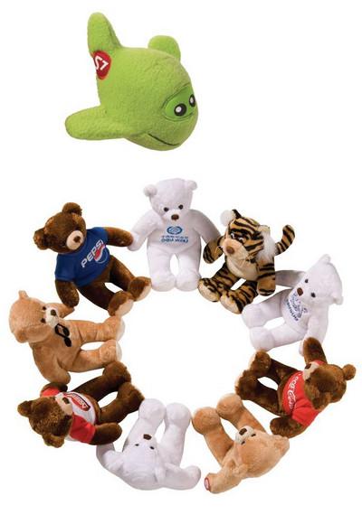 Мягкие игрушки с логотипом